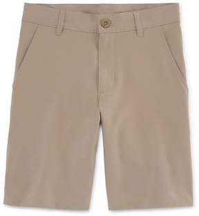 Izod EXCLUSIVE Stretch Flat Front Performance Shorts Boys 4-20-Reg and Husky