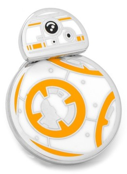 Cufflinks Inc. Men's Cufflinks, Inc. star Wars Spinning Bb8 Lapel Pin