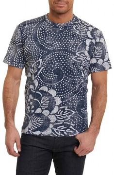 Robert Graham Men's Batik Graphic T-Shirt