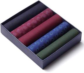 Charles Tyrwhitt Paisley Printed Cotton Handkerchief Box Set