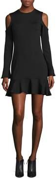Susana Monaco Women's Natalie Cold Shoulder Dress