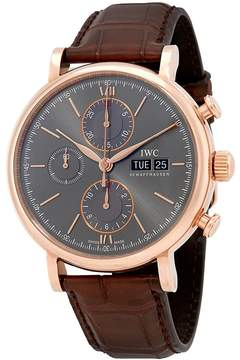 IWC Portofino Chronograph Ardoise Dial Men's Watch
