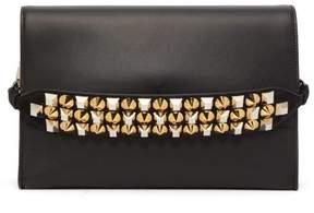 Christian Louboutin Loubiblues Leather Cross Body Bag - Womens - Black Multi