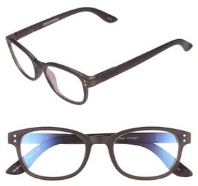 Corinne McCormack Women's Colorspex 50Mm Blue Light Blocking Reading Glasses - Black