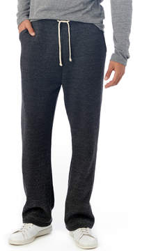 Alternative Apparel Hustle Eco-Fleece Open Bottom Sweatpants