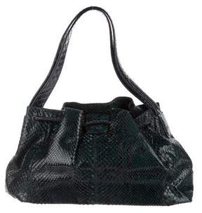 Tod's Snakeskin Handle Bag