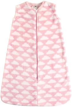 Hudson Baby Pink Cloud Plush Sleeping Bag - Newborn & Infant