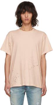 Amiri Pink Shotgun T-Shirt