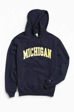 Champion University Of Michigan Eco Fleece Hoodie Sweatshirt