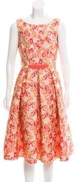 Mantu Pleated Jacquard Dress