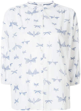 Closed dragonfly print shirt