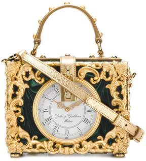 Dolce & Gabbana Box Orologio Barocco bag