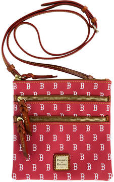 Dooney & Bourke Boston Red Sox Triple Zip Crossbody Bag - NAVY/RED - STYLE