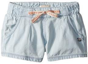 Roxy Kids My Heart Skips Denim Shorts Girl's Shorts