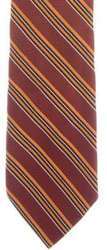 Salvatore Ferragamo Striped Silk Tie