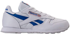 Reebok Boys' Preschool Classic Leather SO Casual Shoes