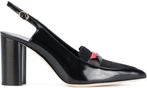 Paul Smith block-heel pumps