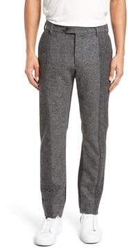 French Connection Men's Patchwork Wool Trousers