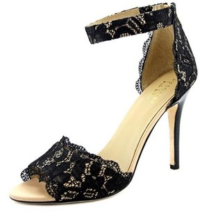 Nicole Miller Cocoa Women Open Toe Canvas Sandals.