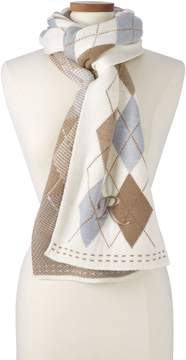 Lands' End Lands'end Women's Argyle Scarf