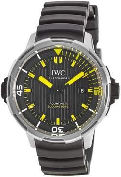 IWC Aquatimer Black Dial Automatic Men's Watch