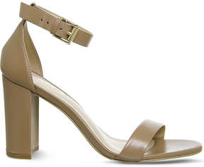 Office Nina block heel leather sandals