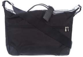 Longchamp Logo Canvas Crossbody Bag