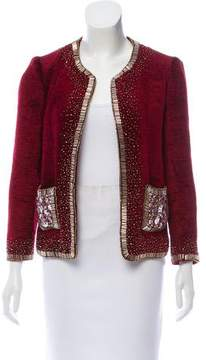 Naeem Khan Embellished Evening Jacket