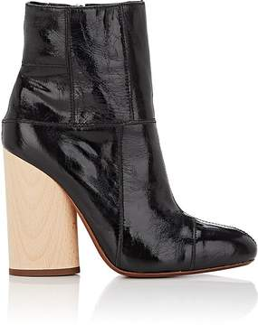 Derek Lam 10 Crosby WOMEN'S EMERY LEATHER PATCHWORK ANKLE BOOTS