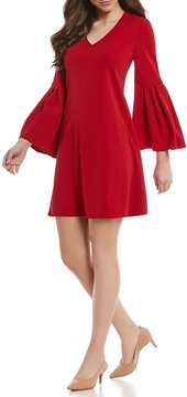 Antonio Melani Emily Pleated Sleeve Dress