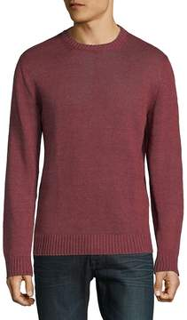 Corneliani Men's Wool Knit Crewneck Sweater