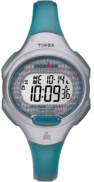Timex Women's Ironman Essential 10 Blue/Gray Watch, Resin Strap