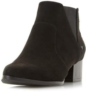 Head Over Heels *Head Over Heels by Dune Black Starry Ankle Boots