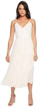 1 STATE 1.STATE Spaghetti Strap Pleated Wrap Dress Women's Dress
