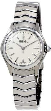 Ebel Wave White Dial Stainless Steel Ladies Watch