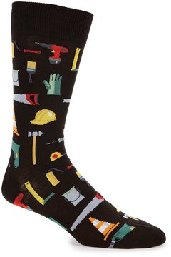 Hot Sox Tools Crew Socks