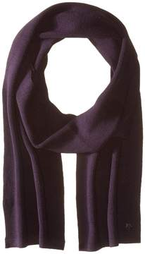 Z Zegna Pearl Stitch Hydrorepellent Merino Wool Scarf Scarves