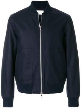 Officine Generale zipped bomber jacket