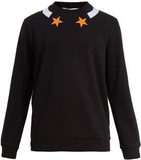 Givenchy Cuban-fit star-appliqué cotton sweatshirt