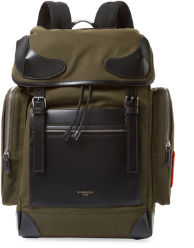 Givenchy Pocket Cotton Backpack