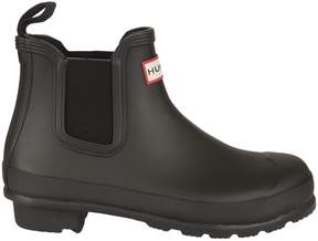 Hunter Black Original Chelsea Rain Boots