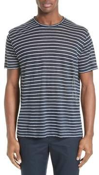 ATM Anthony Thomas Melillo Stripe Linen Jersey T-Shirt