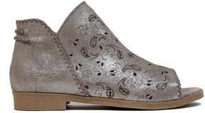 Coolway Silver Jasper Suede Sandal - Women