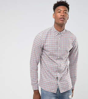 Selected TALL Slim Fit Shirt In Gingham