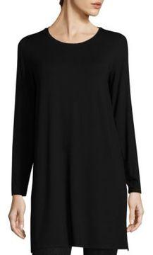 Eileen Fisher Long-Sleeve Jersey Tunic