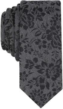 Bar III Men's Pom Floral Skinny Tie, Created for Macy's