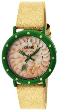 Crayo Slice Of Time Collection CR2104 Women's Watch