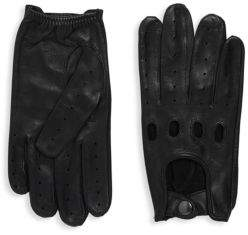 Saks Fifth Avenue Driver Leather Gloves