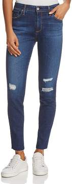 AG Jeans High-Rise Skinny Ankle Jeans in Blaker - 100% Exclusive