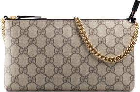 Gucci GG Supreme canvas wrist wallet - GG SUPREME - STYLE